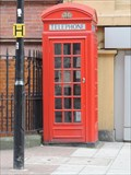 Image for Red Telephone Box - Stamford Street, London, UK