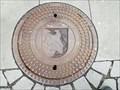 Image for 'Wasserwerk Neuhausen auf den Fildern' Manhole Cover - Town Hall Neuhausen, Germany, BW