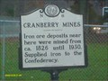 Image for CRANBERRY MINES
