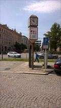 Image for Street Clock on Mlýnská street, Olomouc, Czech Republic