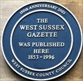 Image for West Sussex Gazette - 150 years - High Street, Arundel, UK