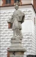 Image for Statue of St. John of Nepomuk / Socha Sv. Jana Nepomuckého - Kourim (Central Bohemia)
