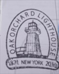 Image for Oak Orchard Lighthouse Stamp - Lake Ontario, Kent, NY