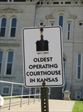 Image for OLDEST - Operating Courthouse In Kansas