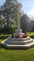 Image for Combined WWI / WWII Memorial Cross - Holy Trinity - Hatton, Warwickshire