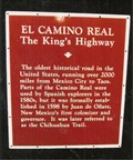Image for El Camino Real - Anthony, NM