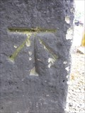 Image for Cut Mark, Pillar, Brook Street, Chester, Cheshire, England, UK