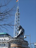 Image for King Kong on the Apeldoorn city hall tower ? - Apeldoorn NL