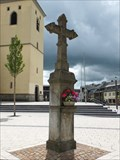 Image for Old wayside cross in Meckenheim - RLP / Germany