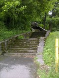 Image for Historic Thompson Park Stone Stairway - Watertown, NY
