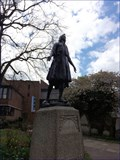 Image for Pocahontas Statue - Princess Pocahontas Gardens, St George's Church, Church Street, Gravesend, Kent, UK