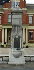 Image for Confederate Memorial in Mayfield Obelisk - Mayfield, Kentucky