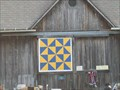 Image for Broken Dishes Barn Quilt - Holley, New York