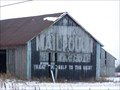 Image for Mail Pouch Chewing Tobacco Ad Barn - Imlay, MI