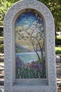 Image for Leon A. Harris Tombstone Mosaic -- Temple Emmanu-El Cemetery, Dallas TX