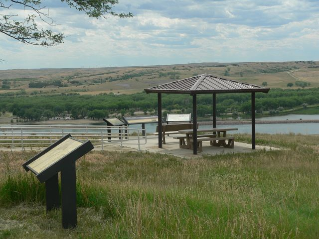 Oahe Trail Race Overlook
