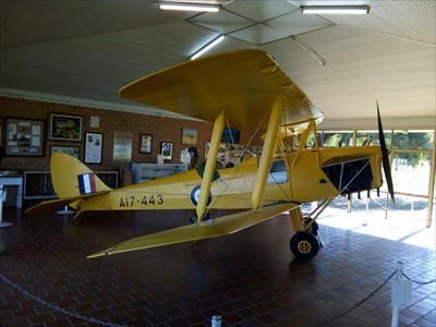 Side-on view of this displayed plane. 1209, Friday, 1 June, 2018