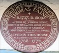 Image for Thomas Paine - Bull Lane, Lewes, UK