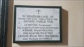 Image for Memorial Plaque - St Peter - Stoke Lyne, Oxfordshire