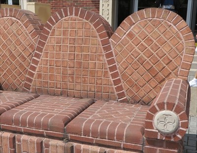 Brick Couch - Chattanooga, TN.