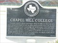 Image for Site of Chapel Hill College