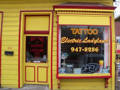 Electric ladyland tattoo shops parlors on for Tattoo shops french quarter new orleans