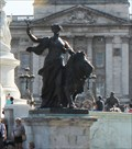 Image for Eirene/Pax (Goddess of Peace)  -- Victoria Memorial, Buckingham Palace, Westminster, London, UK
