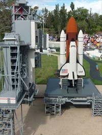 LEGO Space Shuttle & Launch Pad - Florida - Lake Wales.