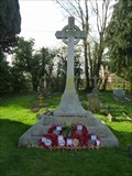 Image for WWI/II Memorial, St John the Baptist, Crowle, Worcestershire, England