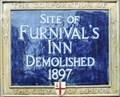 Image for Furnival's Inn - Holborn, London, UK
