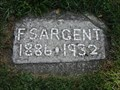 Image for F. Sargent - Crooks Road Cemetery - Troy, Michigan