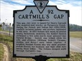 Image for Cartmill's Gap