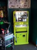 "Image for Art*O*Mat 'Took Gallagher's' ""Greenie"" at  Liberty Street Robot Supply & Repair   -  Ann Arbor, MI"