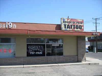 House of Pain Tattoo - Santa Clara, CA - Tattoo Shops/Parlors on Waymarking.