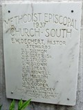 Image for Christ United Methodist Church - 1937 - Stockdale, TX