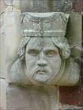 Image for Door-post Faces, St Peter's, Cookley, Worcestershire, England