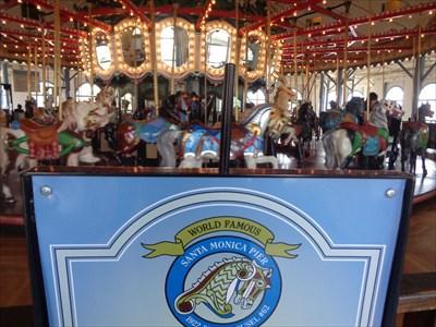 veritas vita visited Looff Hippodrome Carousel
