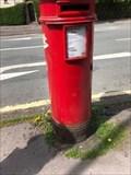 Image for Victorian Round Pillar Box - Bath Road, Buxton, Derbyshire, UK