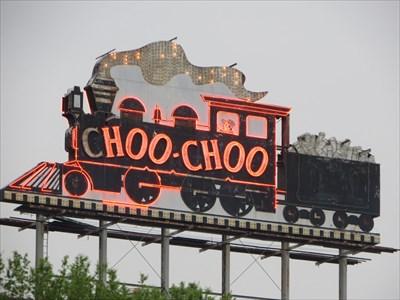veritas vita visited Chattanooga Choo Choo Neon Sign