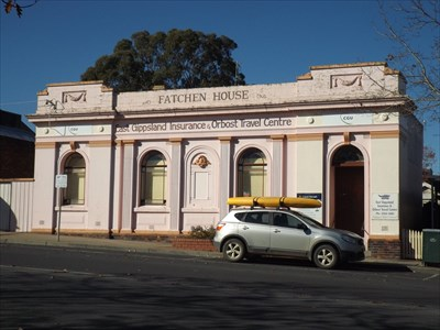 The ex Commonwealth Bank of Australia [with my vehicle in front. 1337, Saturday, 14 May, 2016