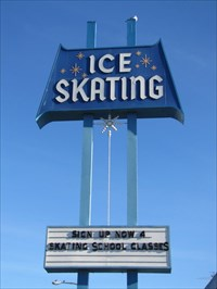 Culver City Ice Rink Sign, Culver City