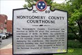 Image for Montgomery County Courthouse Marker