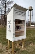 Image for Blessing Box and Little Free Library - Bloomingdale, Indiana - USA