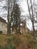 Image for Krizek pred branou klastera - Sazava nad Sazavou, CZ