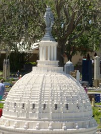 The Capitol Building - Legoland - Lake Wales.