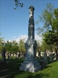 Image for Lane Family Zinc Headstone - Buffalo, NY
