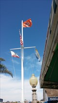 Image for Balboa Island Nautical Flagpole on Edgewater Place - Balboa Island, CA