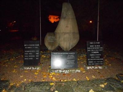 Pomník obětem válek v Lomnici