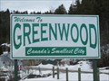 Image for SMALLEST - City in Canada - Greenwood, BC