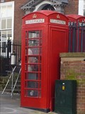 Image for A Pair of Red Telephone Boxes - Nottingham, Nottinghamshire, England, UK